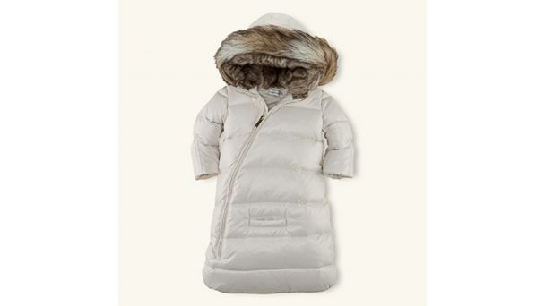 Luxe Baby Snowsuits Puffers And Plush Gear Abc News