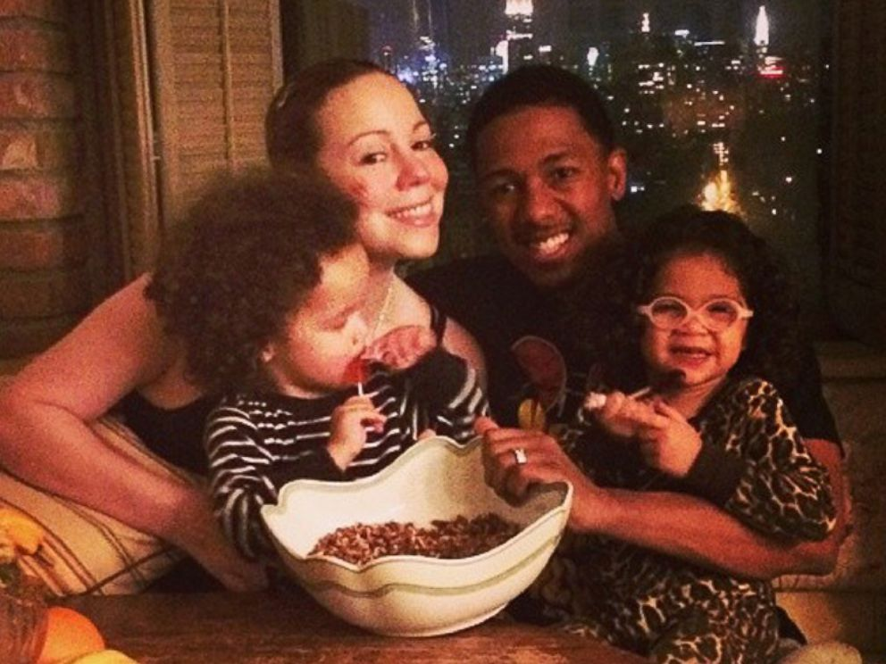 PHOTO: Mariah Carey posted this image to her Instagram on Nov. 28, 2013 with the caption, Family prepping time! #pecanpie #thanksgiving.