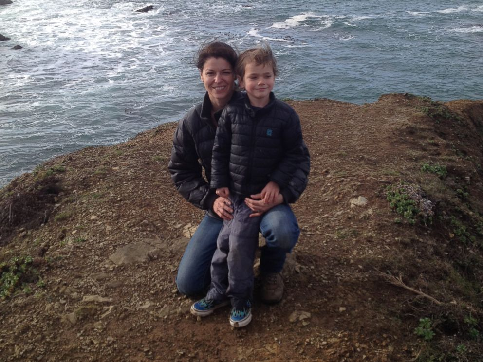 PHOTO:Heather Baird and her son, Ryder, have been on a mission to find the author of a 1988 message they found inside a bottle in California.