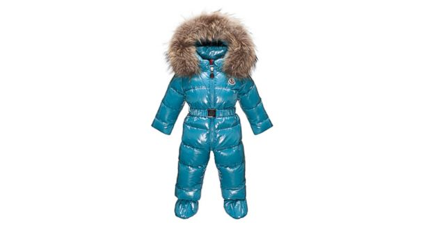 PHOTO: Moncler Bebe Crystal snowsuit
