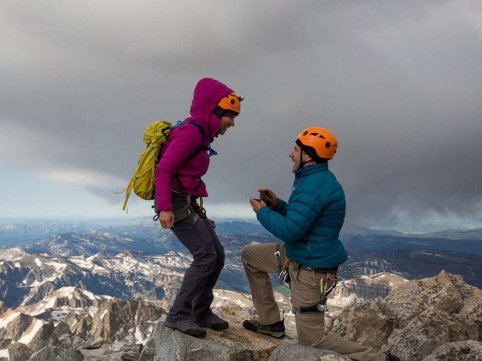 PHOTO: Engagement Ring Lost on Top of 14,000-Foot Mountaintop 'Was Meant to Be There'