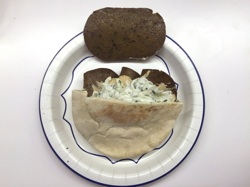 PHOTO: Taft Foodmasters Vegetarian Gyro