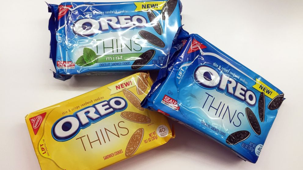 Side By Side Comparison Of New Oreo Thins To Original Abc News