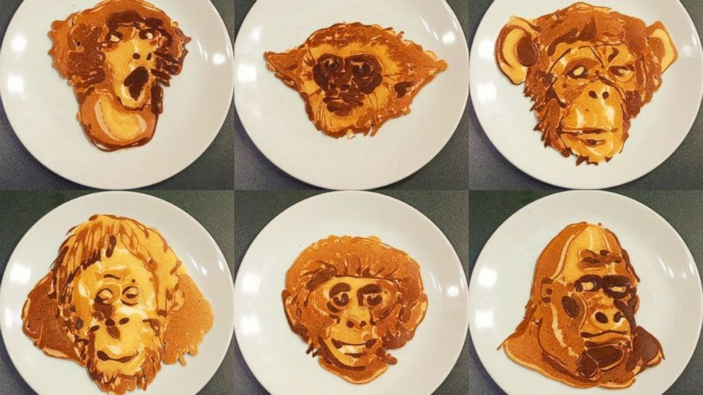 Dad's Pancake Art Becomes a Viral Sensation
