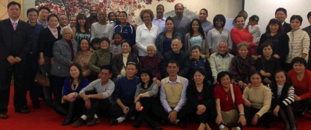 PHOTO: In 2012, Paula Williams Madison reunited with over 300 family members in China.