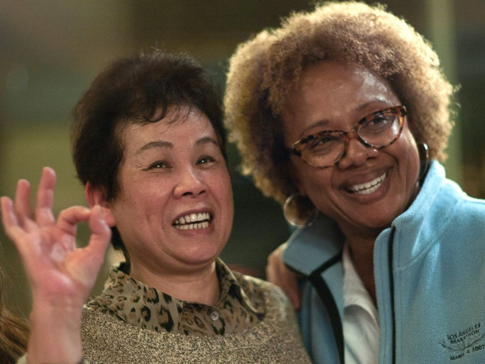 PHOTO: Paula Williams Madison with her cousin Kim Yuet Lau.