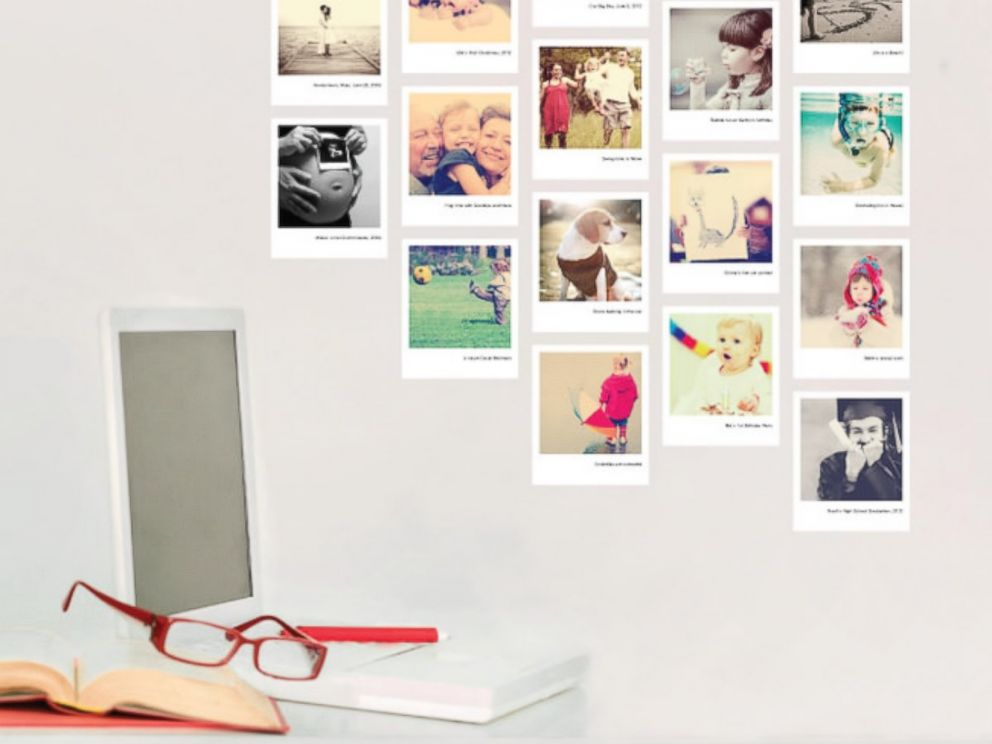 PHOTO: The perfect gift for Gram: A wall gallery of her best Instagram photos.