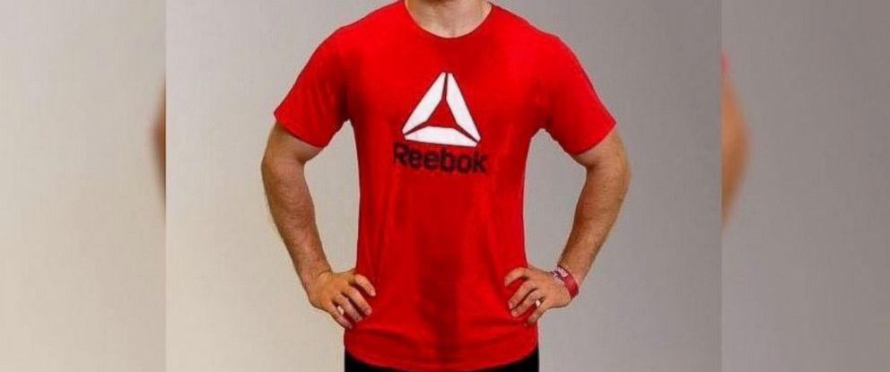 PHOTO: Reebok jokingly posted a T-shirt with fake sweat stains for $425 on its website on April 27, 2017, after a $425 pair of jeans with a fake mud coating appeared on Nordstroms website.