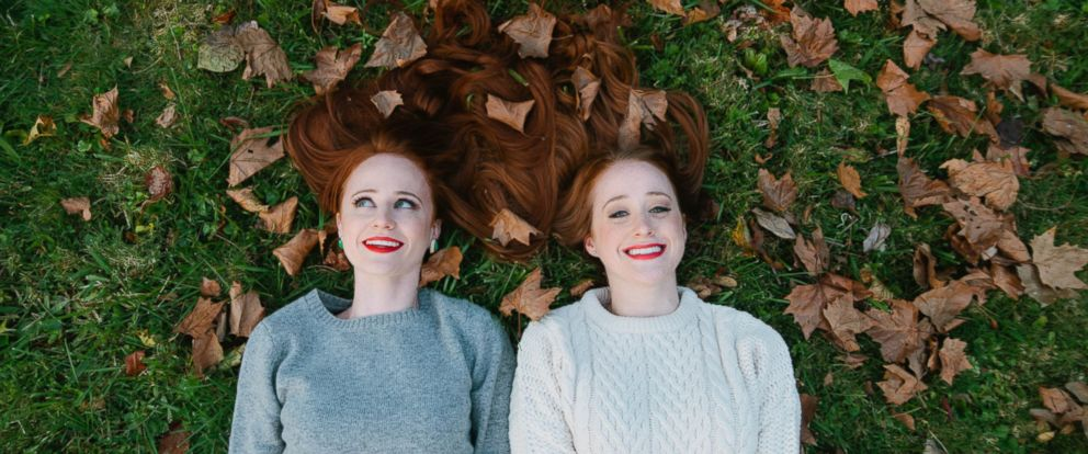 PHOTO: After struggling to find beauty products that suited their needs, Adrienne Vendetti Hodges and her sister Stephanie Vendetti launched a site devoted to the subject: How To Be a Redhead.