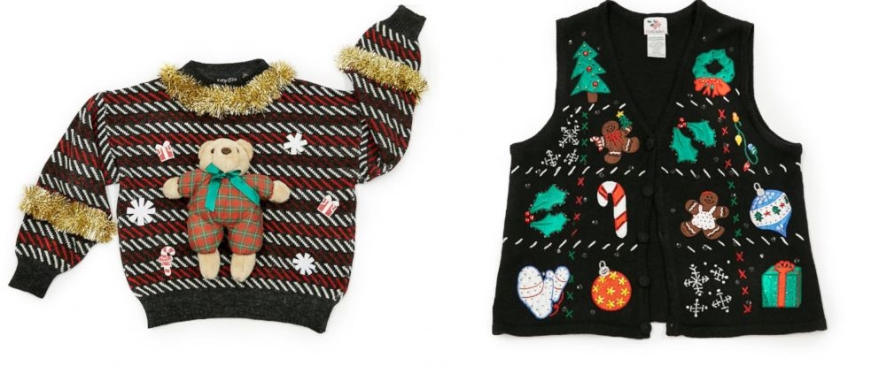 PHOTO: Bear it All Sweater & Silent Night Vest