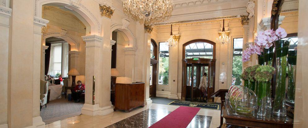 PHOTO: Entrance at The Shelbourne Dublin, A Renaissance Hotel.