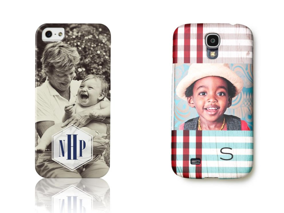 PHOTO: Shutterfly this season began offering iPhone and Samsung cases that can be customized.