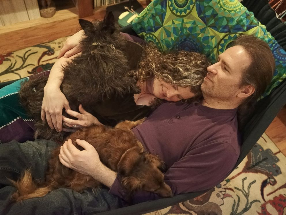 PHOTO: Wally is pictured with his family.
