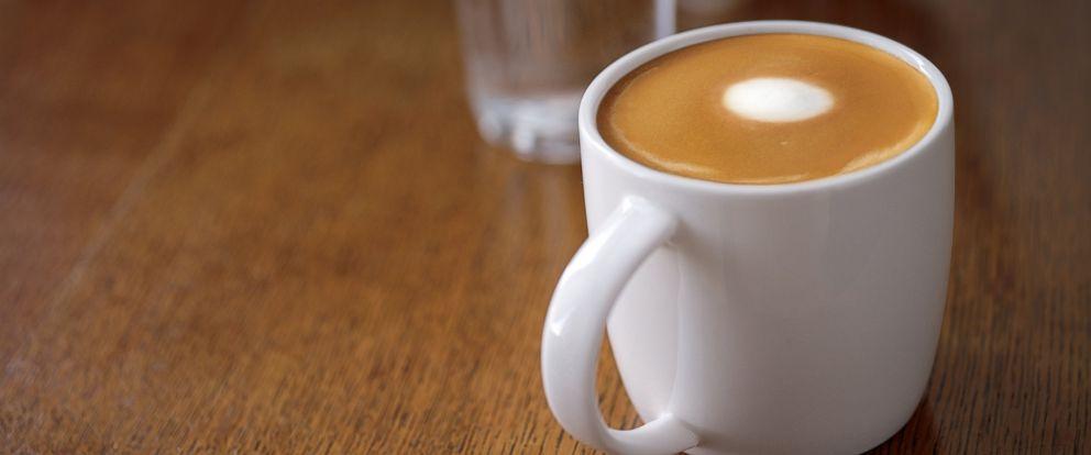 PHOTO: Starbucks new flat white drink.