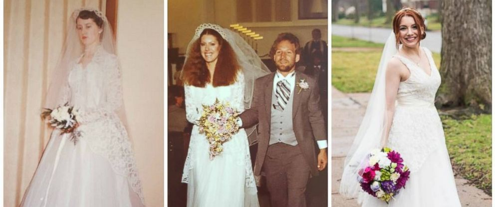 Grandfather Walks 3 Generations Of Women Down The Aisle In Same