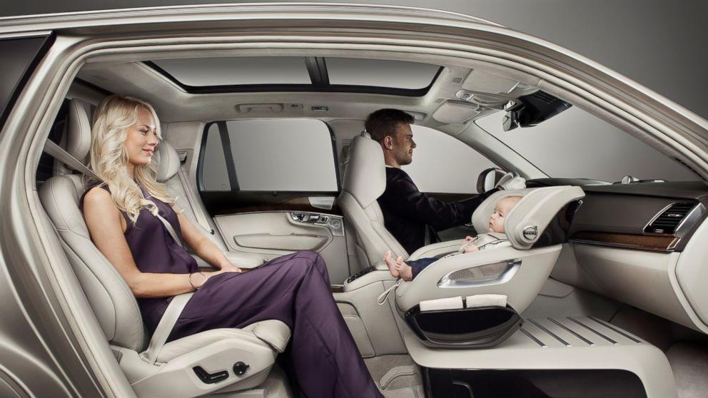 New Car Seat Concept Blows Parents' Minds