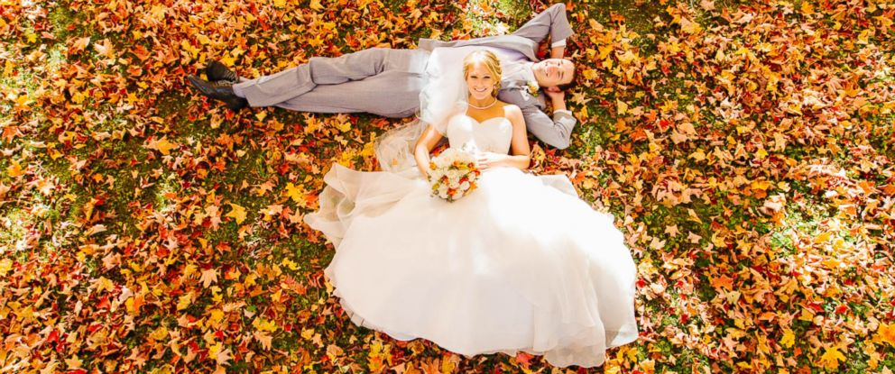 PHOTO: Wes Eisenhauer photographed a gorgeous fall wedding on October 17 outside of Minneapolis, Minnesota.