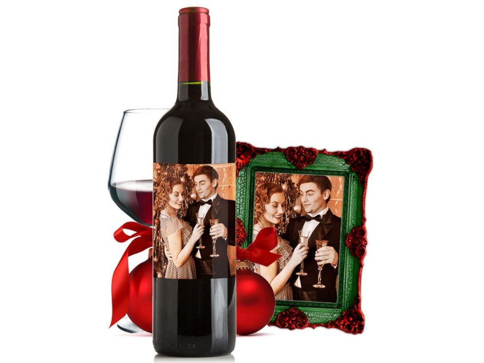 PHOTO: Personalized wine will allow your family to toast your good health for years to come.