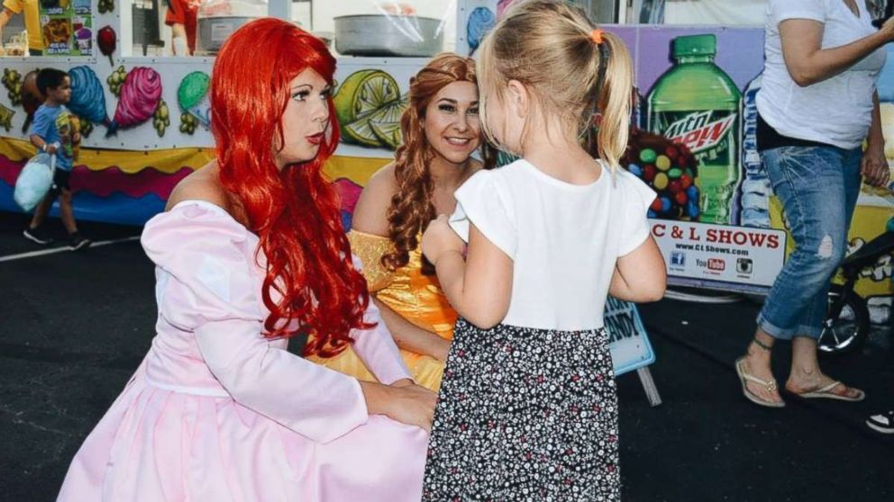 College Students Transform Into Princes And Princesses To Visit