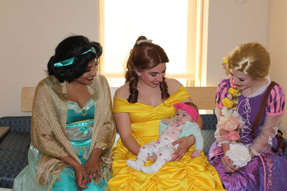 PHOTO: From princess Jasmine to princess Belle, students get extensive princess training.