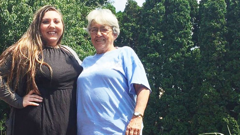 Jenn Miller, 19, and her grandmother, Susan Grey, 70, will wear identical dresses to a family wedding in September.