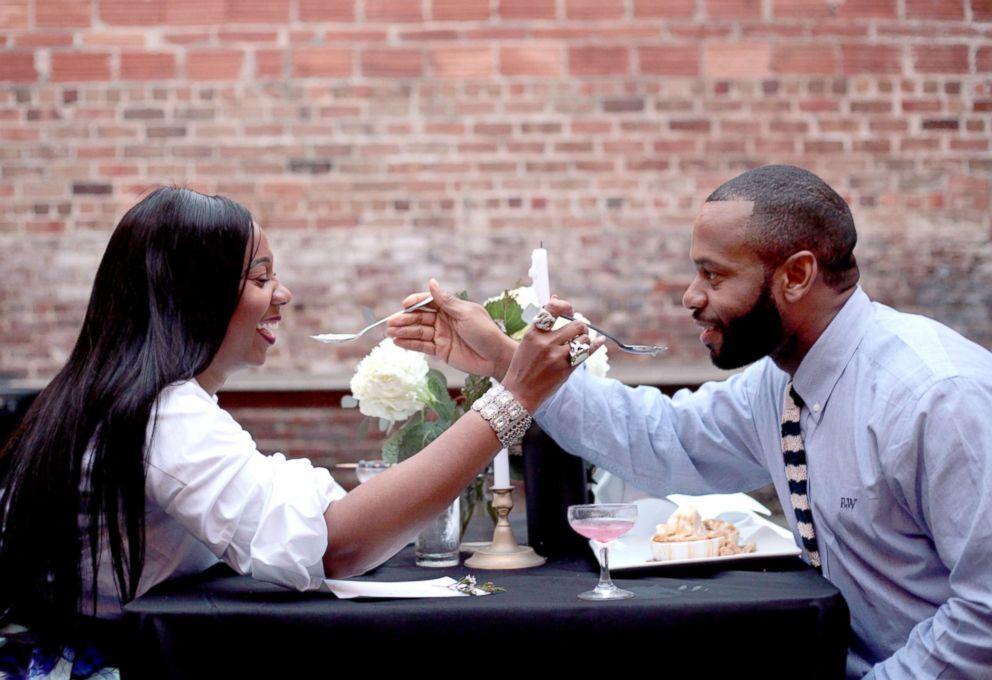 A recent photo of her Jennifer Ogunsola with her boyfriend.