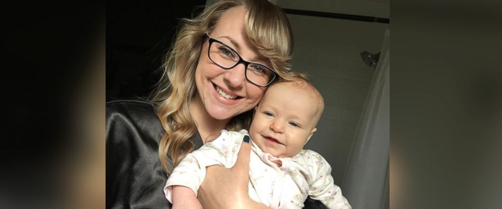 PHOTO: Jessica Porten, 27, poses with her 4-month-old daughter, Kira.