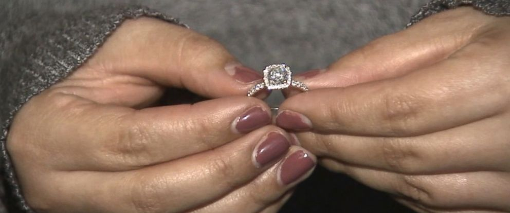 PHOTO: Carissa Wolter of Jurupa Valley, Calif. accidentally flushed her engagement ring and diamond earrings down the toilet on Nov. 10, 2015.
