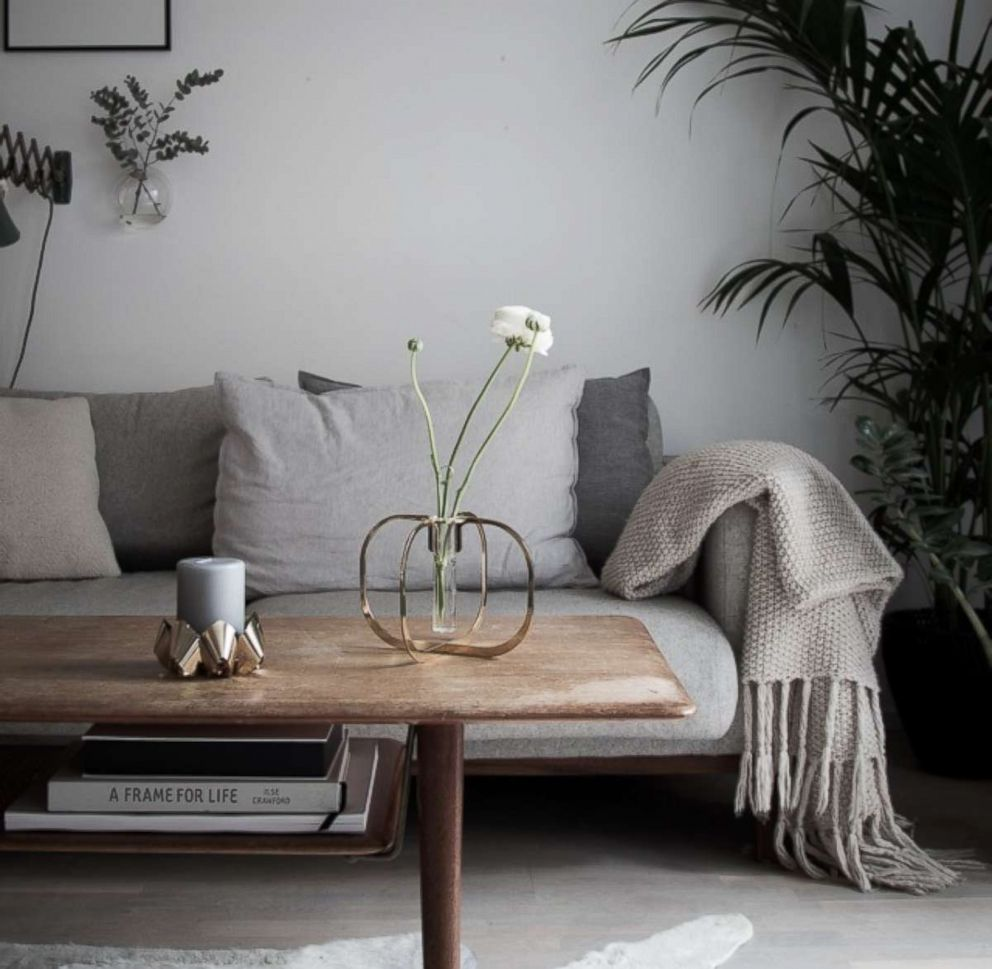 PHOTO: Niki Brantmark.s home in Sweden features principles of the Lagom design philosophy.