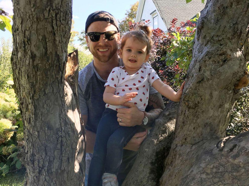 PHOTO: Reid LeBlanc, 2, seen in an undated photo with her father, Patrick LeBlanc Halifax, Nova Scotia.