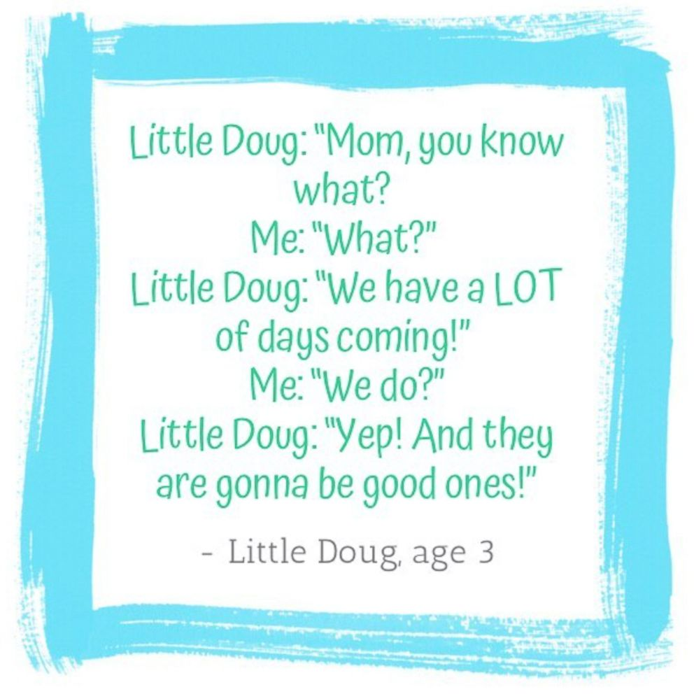 PHOTO: LittleHoots, an app that lets parents share the cute things their children say, releases their Hoots of the Week.