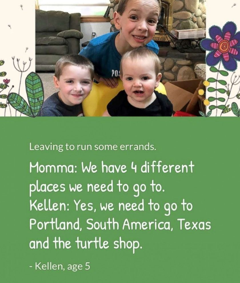 PHOTO: Kids funny comments are named hoots of the week by Little Hoots.