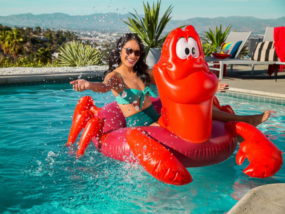 PHOTO: This Sebastian Pool Float from The Little Mermaid collection is priced at $59.95.