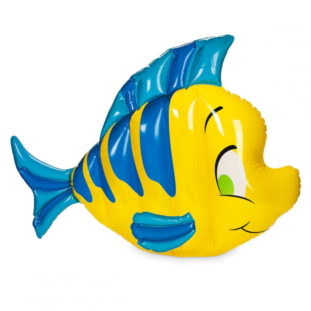 PHOTO: This Flounder Pool Float is selling for $54.95 on the ShopDisney website.