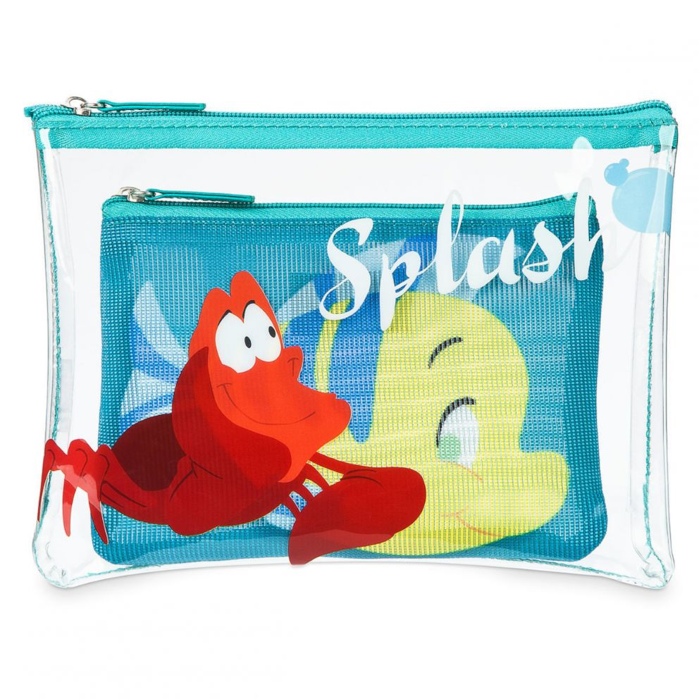 PHOTO: The Little Mermaid waterproof pouch set is selling for $16.95.