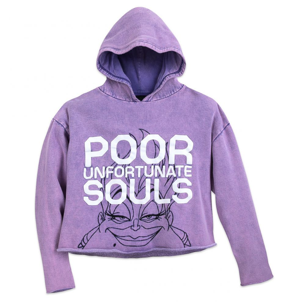 PHOTO: This Ursula Cropped Hoodie is selling for $39.95 on ShopDisney.