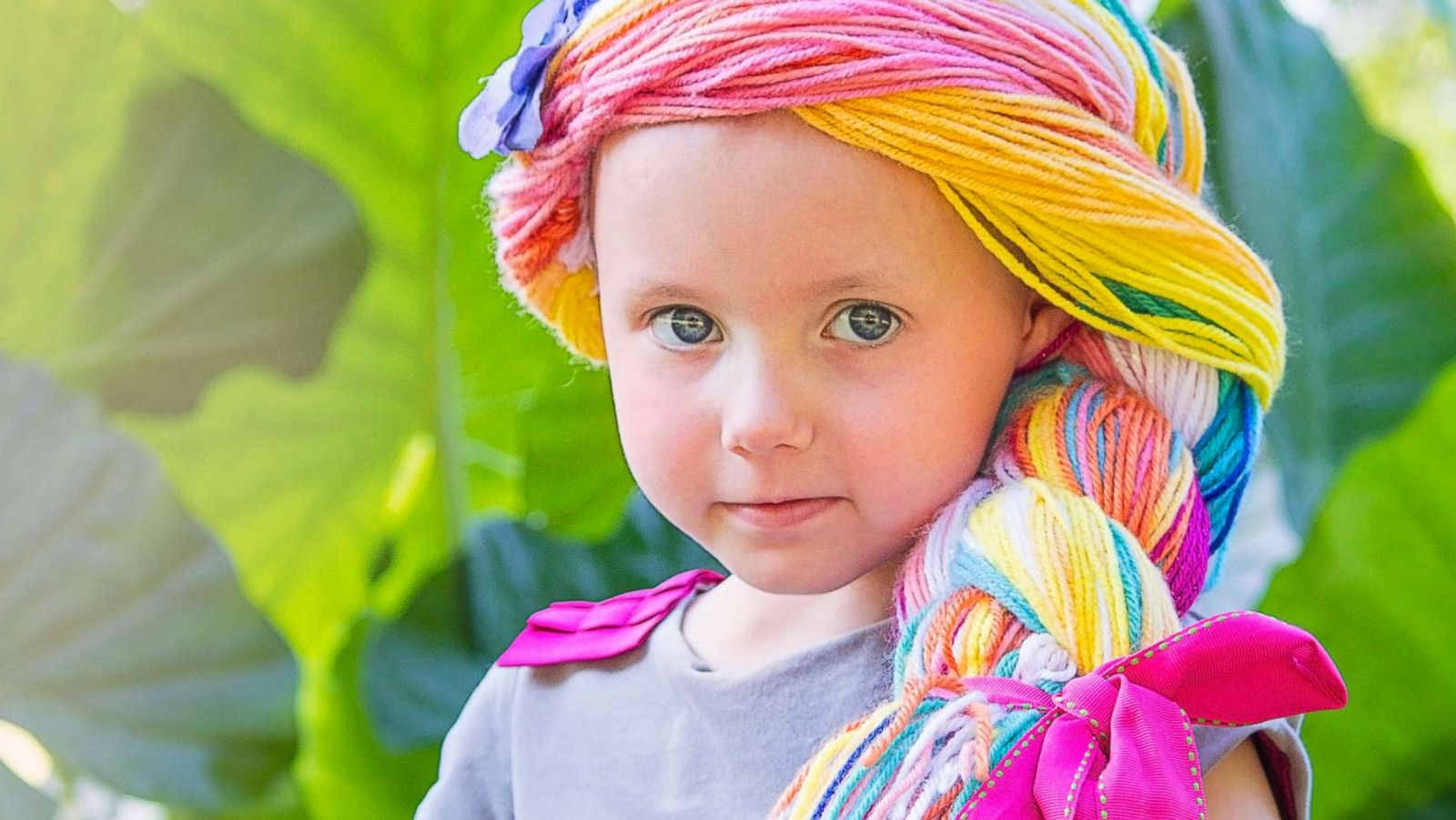 Magic yarn' wigs delight thousands of kids