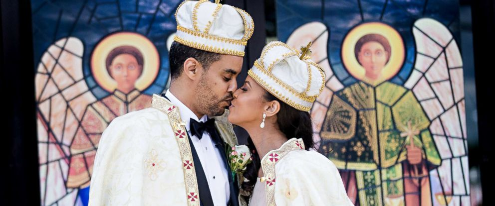 PHOTO: Groom, Prince Joel Makonnen, with his bride Ariana Austin at their Sept. 9, 2017 nuptials.