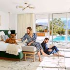 Images of Mandy Moore's house in Pasadena, CA for Architectural Digest June 2018 issue.