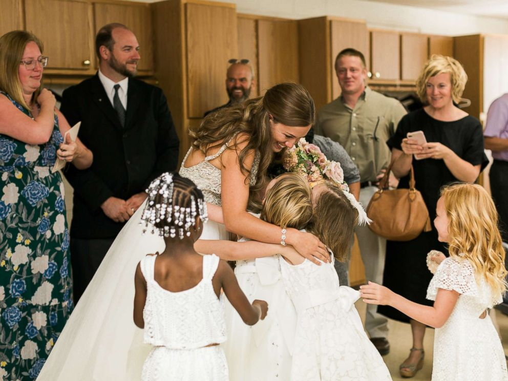 PHOTO: Indianapolis teacher Marielle Slagel Keller asked her students to be her flower girls and ring bearers in her June 24 wedding.