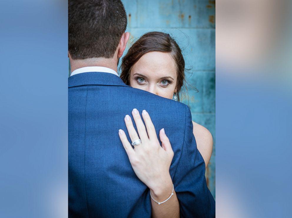 PHOTO: Matt and Kalin Haley exchanged vows on Oct. 7, 2017 in Essex Park in Connecticut.