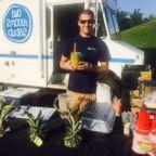 Max Bawarksi, 35, has a side hustle as the owner of gourmet food trucks.