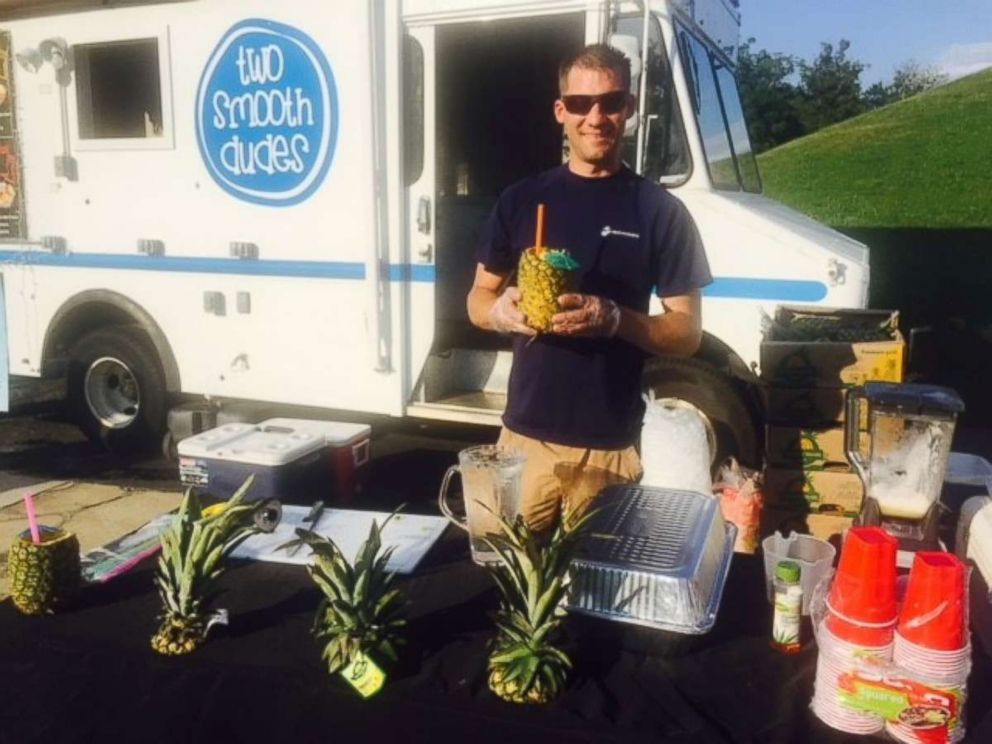 PHOTO: Max Bawarksi, 35, has a side hustle as the owner of gourmet food trucks.