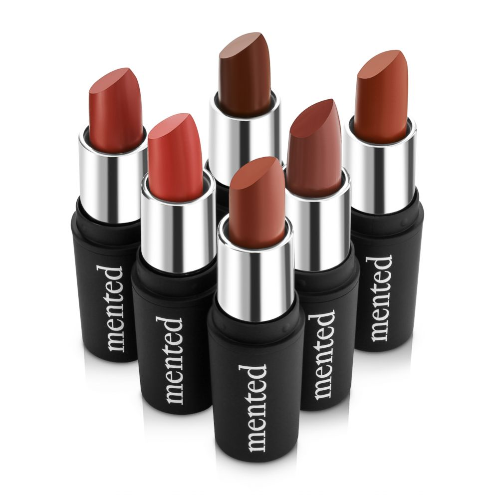 PHOTO: An example of the different shades of lipsticks Mented Cosmetics offers.