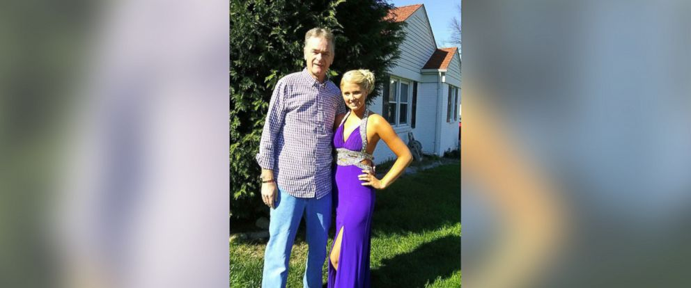PHOTO: Michael Sellers, who passed away from pancreatic cancer in 2013, with his now 21-year-old daughter, Bailey.