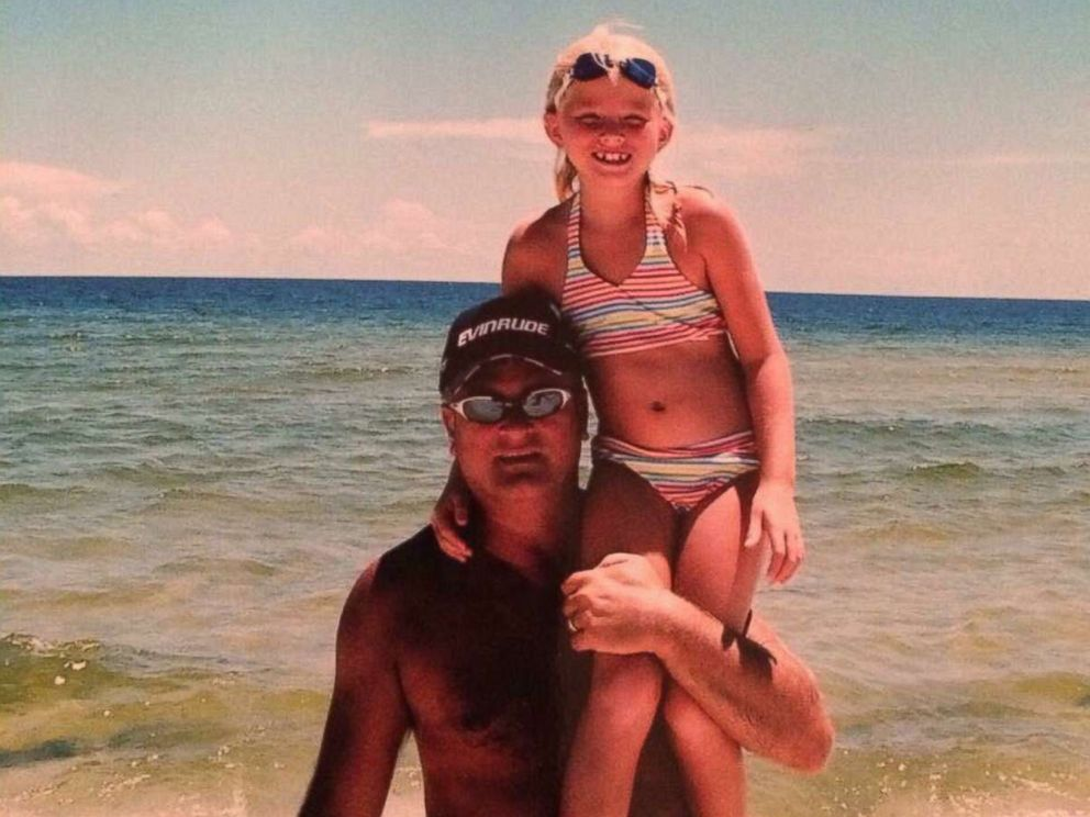 PHOTO: A throwback photo of Michael Sellers, who passed away from pancreatic cancer in 2013, and his daughter, Bailey.
