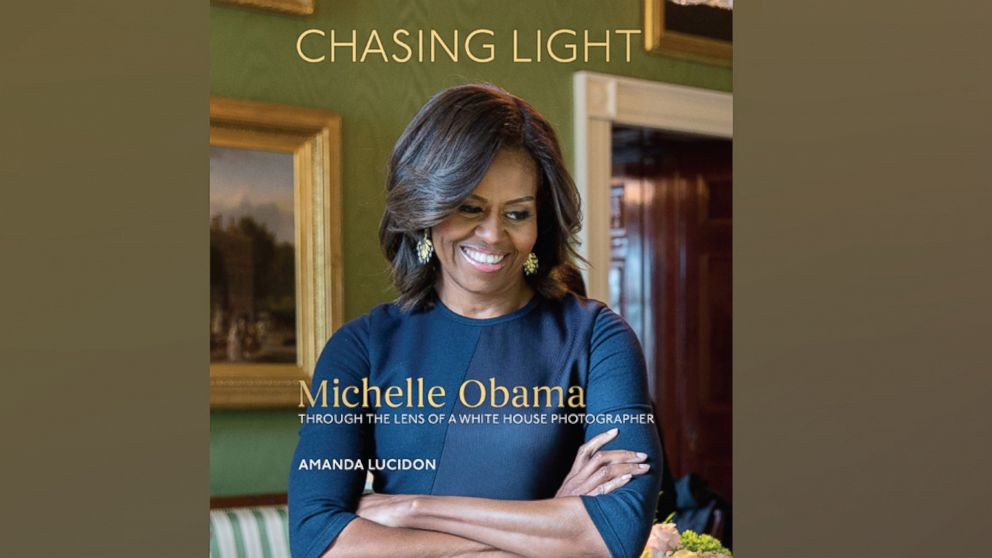 """White House photographer Amanda Lucidon shares a collection of her candid photographs from the Obama presidency in a new book, """"Chasing Light,"""" which is filled her reflections and lessons she learned from working on the first lady's team."""