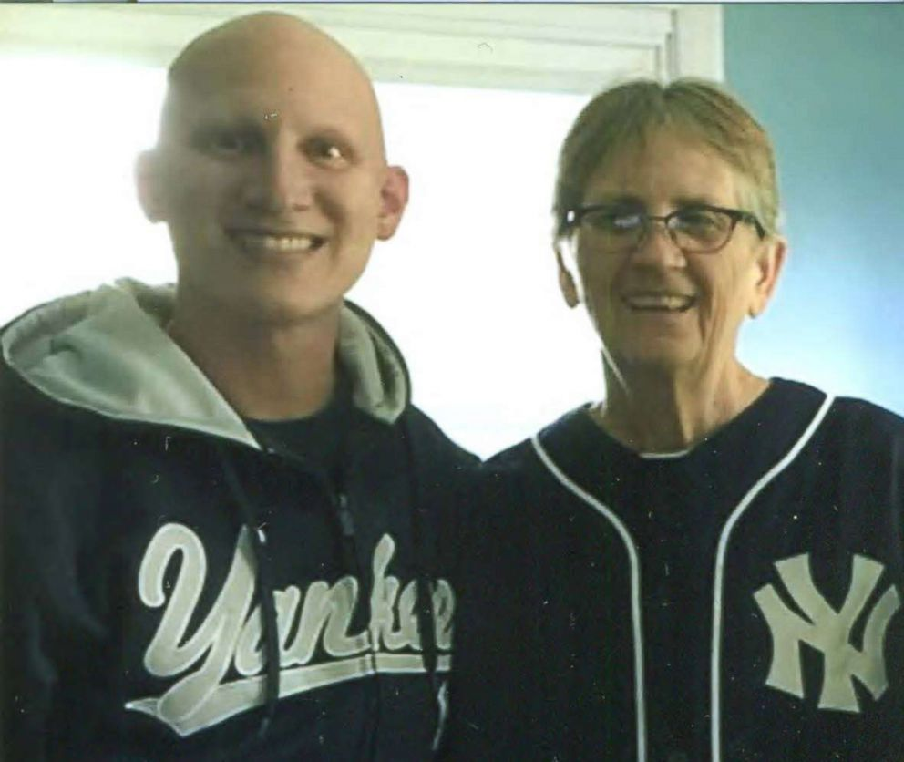 PHOTO: Brian Muscarella, 33 of Lake View, New York, selflessly donated a portion of his liver to his mother Diane Muscarella of Buffalo, after learning that she was waiting on a transplant list.