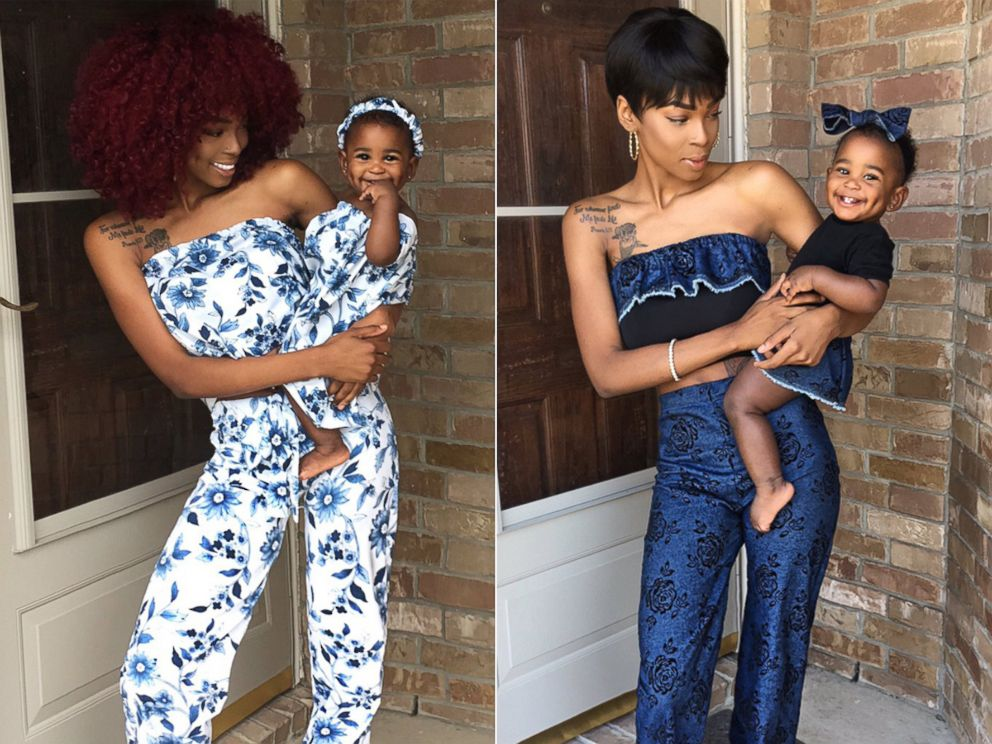bd336b2b20 PHOTO: Alexis Brown, 19, of Austin, Texas, makes matching outfits to