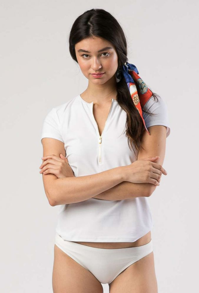 PHOTO: The Kate short sleeve swim-shirt by Mott50.